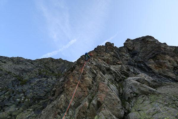 Steile 4er-Seillängen