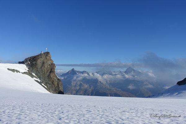 Klein Matterhorn in Sicht!