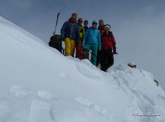 Gipfelpic La Clytte Mountain