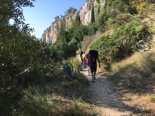 Unterwegs zu den letzten kroatischen Kletternmetern...