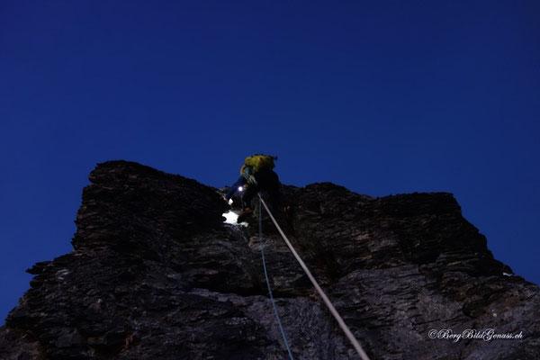 Klettern im Dunkeln...immer wieder speziell