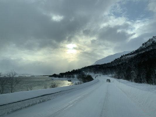 Unterwegs nach Svolvær