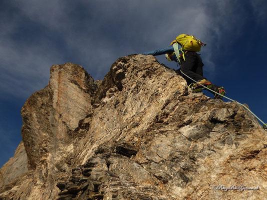 Tolle Klettereien