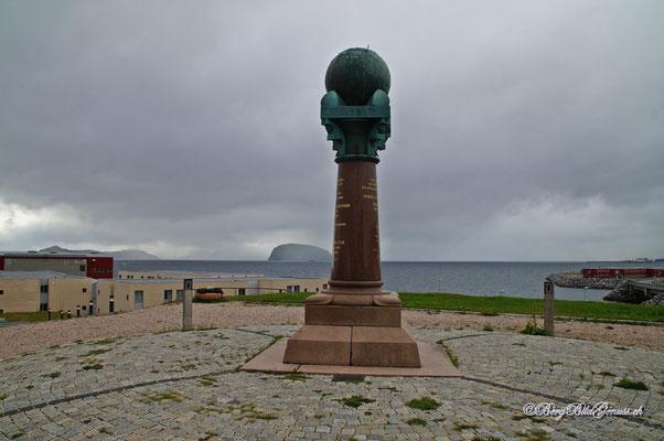 Meridianssäule in Hammerfest