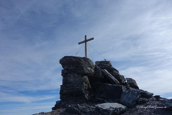 Gipfelkreuz Spannort