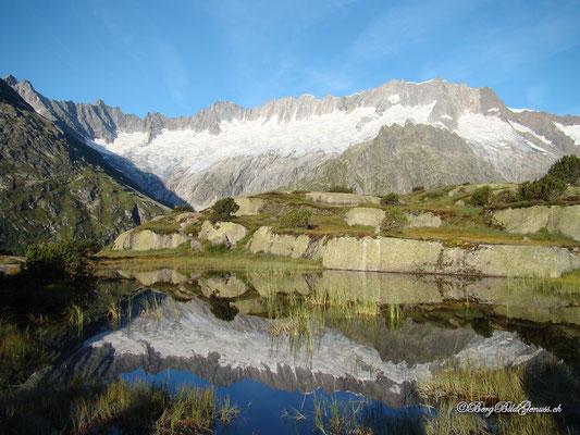 Winterbergkette gespiegelt