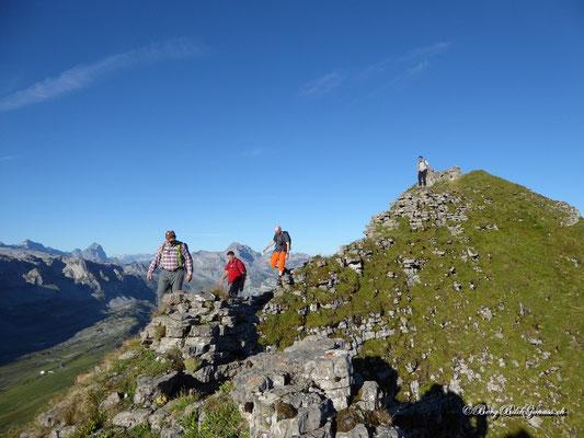 Abstieg vom Chli Chilchberg