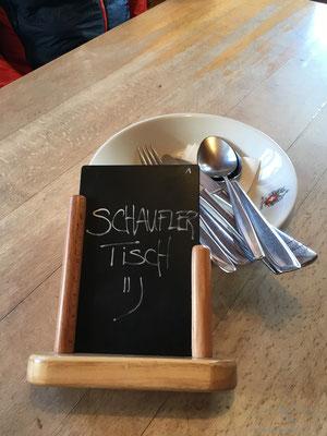 Unser Tisch ;-)