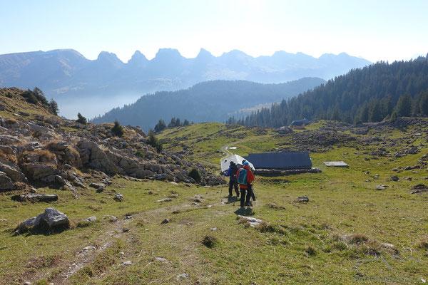 Im Abstieg zur Alp Hinterwinden