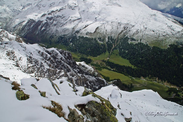 Tiefblick ins Val Tasna