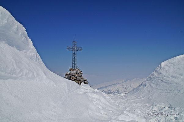Schmuckes Gipfelkreuz