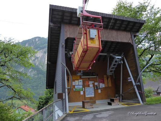 Seilbahn Erstfeld - Chilcherberge