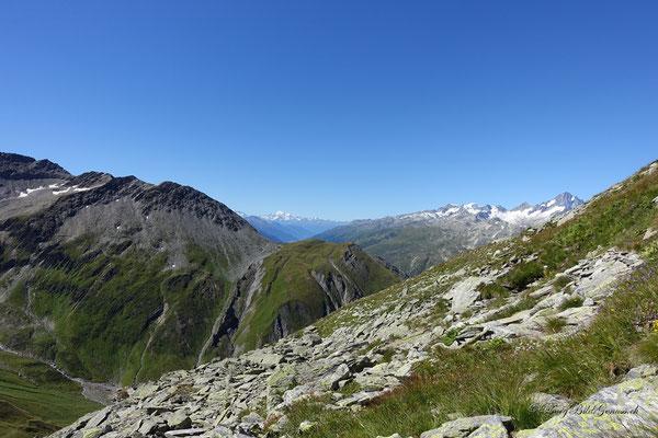Und schon im Aufstieg zum Chli Furkahorn