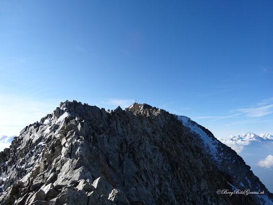 Gipfelkreuz in Sicht!