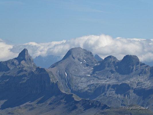"""Unser """"Matterhorn"""" mit Trabanten"""