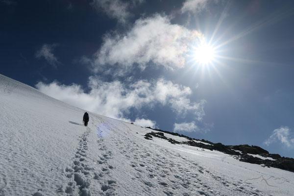 Bergsteigeridylle