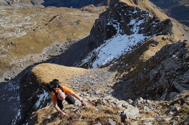 Kleine Klettereinlage