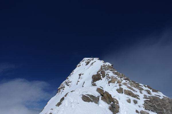 Gen Gipfel des Grossen Fieschhorns