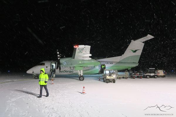 Ankunft in Svolvær