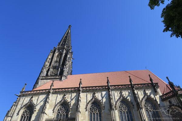 Die Lamberti Kirche. Sie ist der bedeutendste sakrale Bau der westfälischen Spätgotik.