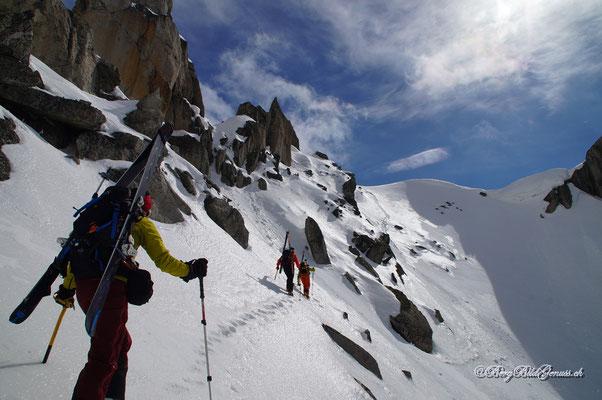 Aufstieg zum Lochberg