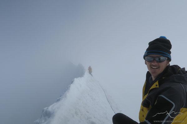 Am neckischen Gipfelgrat