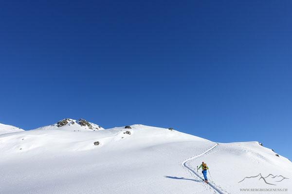 Prachtswetter am Samstag - Aufstieg zum Schafberg