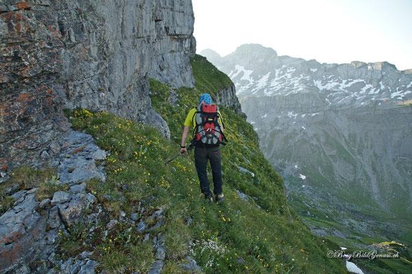 Querung unterhalb des Grossen Chilchberges