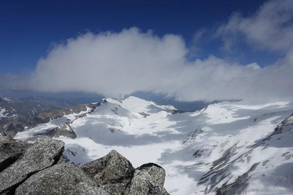 Licht und Schatten auf dem Rhonegletscher