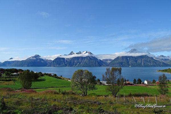 Endlich in den Lyngenalpen - einfach eine fantastische Landschaft!