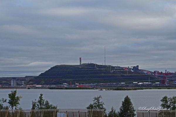 Abraumhalden in Kiruna