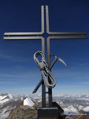 Gipfelkreuz Stecknadelhorn