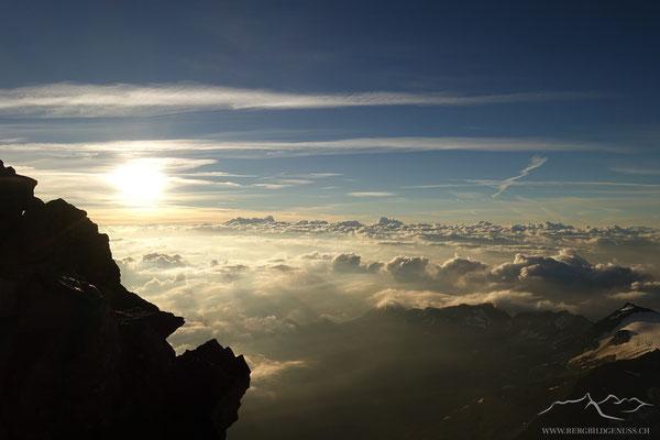 Morgenstimmung im Aufstieg zum Lagginhorn