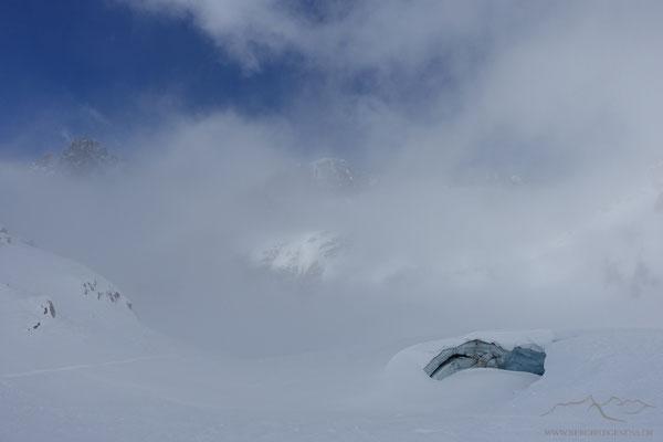 Beim Gletschertor des Tiefengletschers