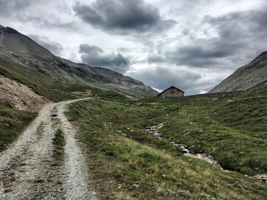 Alp la Stretta in Sicht