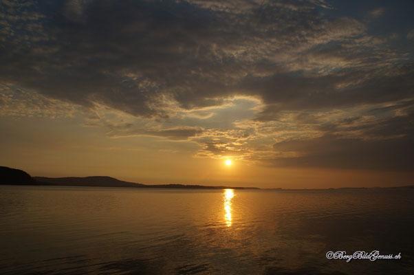 Fantastischer Sonnenaufgang morgens um 4...