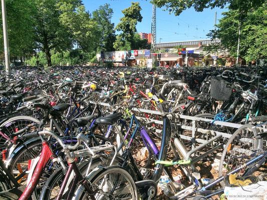 Münster ist eine Fahrradstadt...