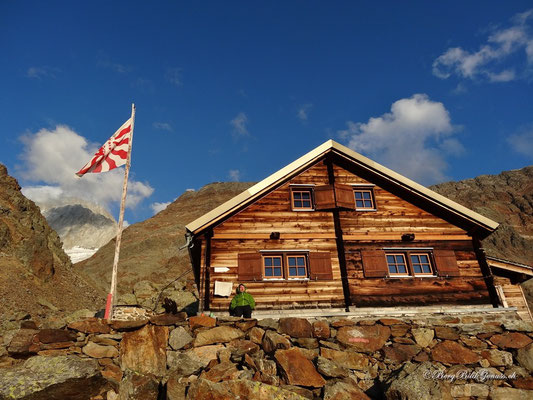 Idylle bei der Bietschhornhütte