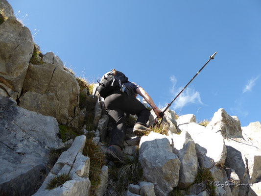 Unterwegs zum zweiten Gipfel