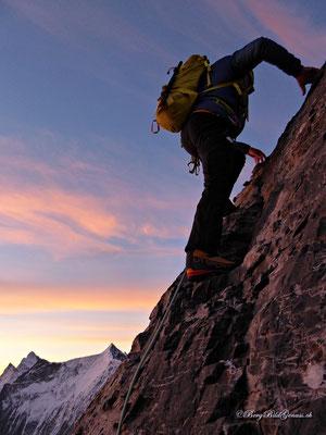 Bergsteigeridylle...
