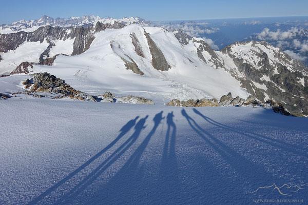 Schattenspiele im Aufstieg zum Sustenhorn