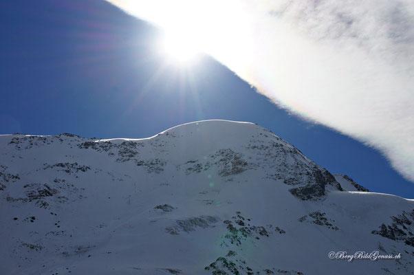 Weissseespitze 3518m - wurde von Skitourengängern bestiegen