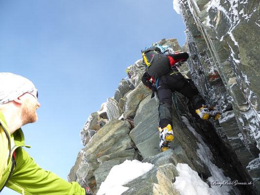 Spassige Klettereien