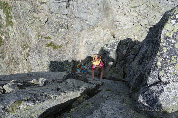 Spassige Kletterei