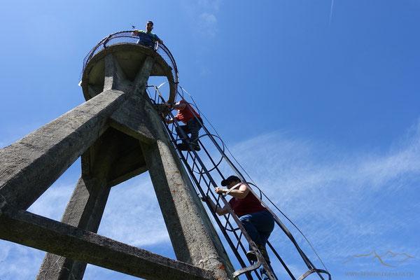 Turm auf dem Mont Raimeux