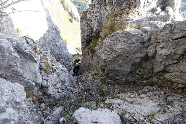 Kamin von oben