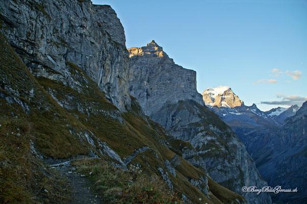 Der Wanderweg übers Chalchtrittli
