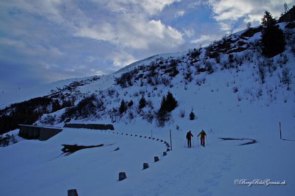 Start in die neue Skitourensaison...