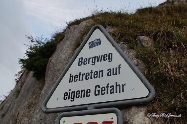 Gilt derzeit auch fürs Berghaus...