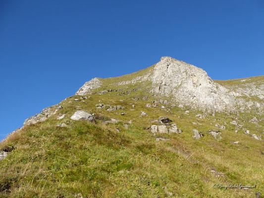 Abstieg über die Ostflanke am Rossstock